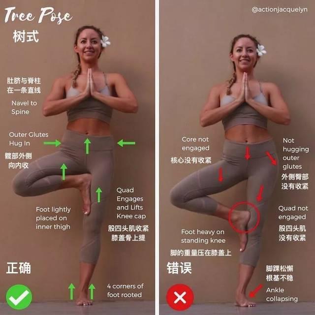 如何避免瑜伽伤害 站立类练习